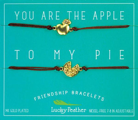 Apple To My Pie BFF Bracelets