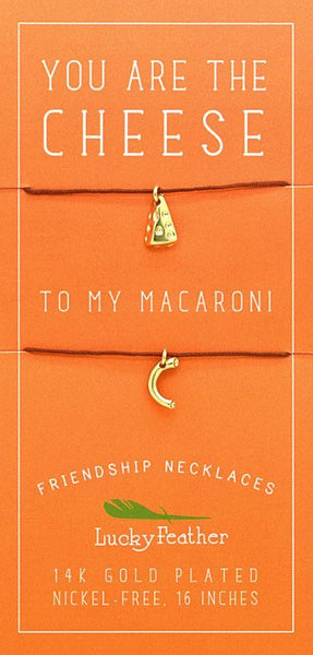 Cheese To My Macaroni BFF Necklaces