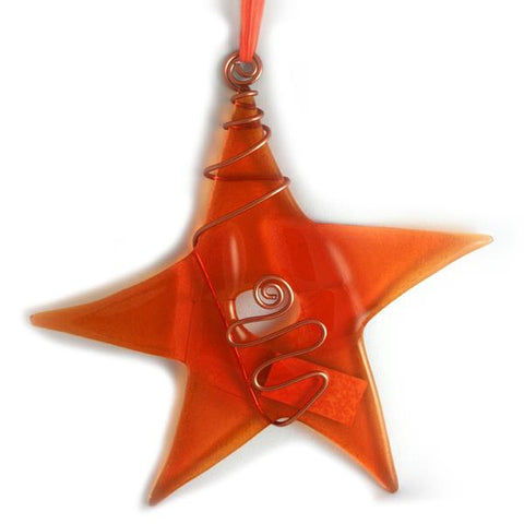 Glass Star -Tangerine