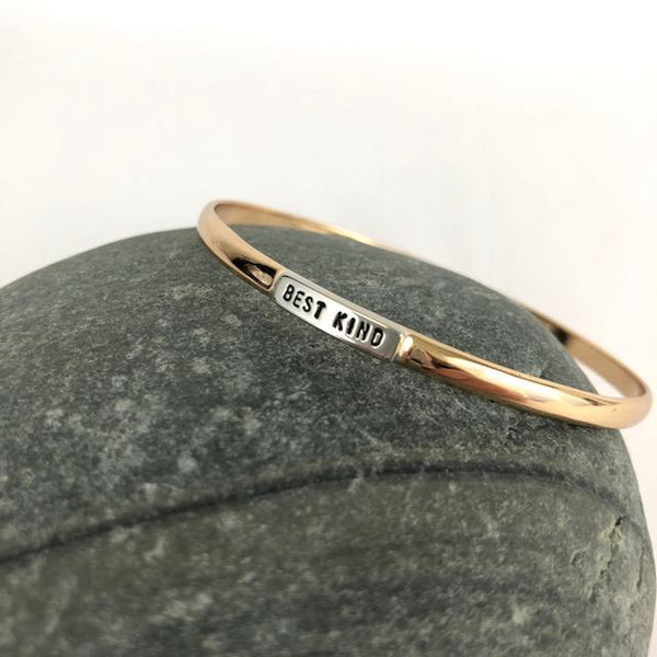 Newfoundland Saying Bangle