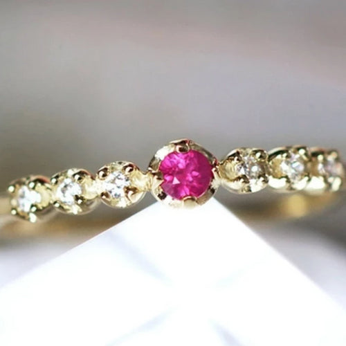 vente flash, bague sertie