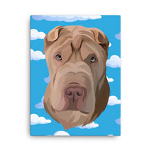 Load image into Gallery viewer, Custom Pet Print Canvas
