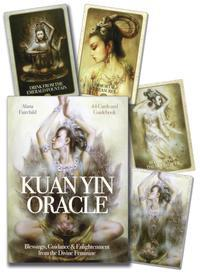 Kuan Yin Oracle Cards (44-cards)  by Fairchild