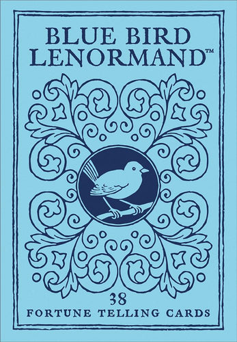 Blue Bird Lenormand Deck 36 Cards