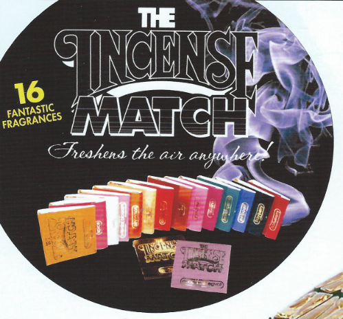 Incense Matches  -   Assorted Scents                                                                                                                           (KH 73400 .60