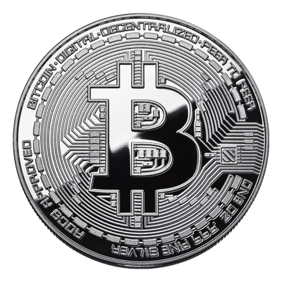 Bitcoin 1oz Silver Proof