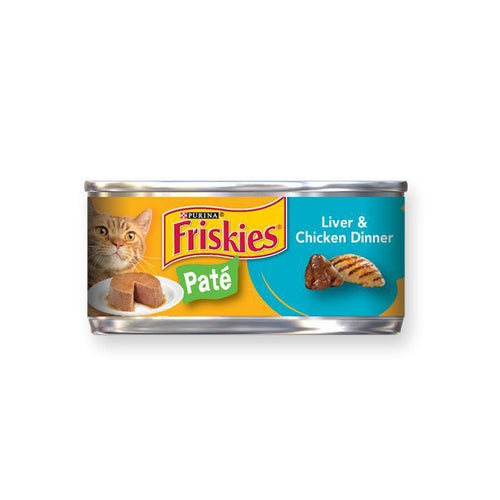 Friskies Pate Liver and Chicken Canned Cat Food