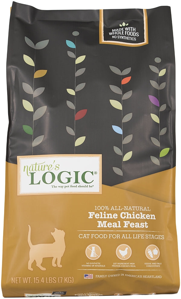 Nature's Logic Feline Chicken Meal Feast Dry Cat Food