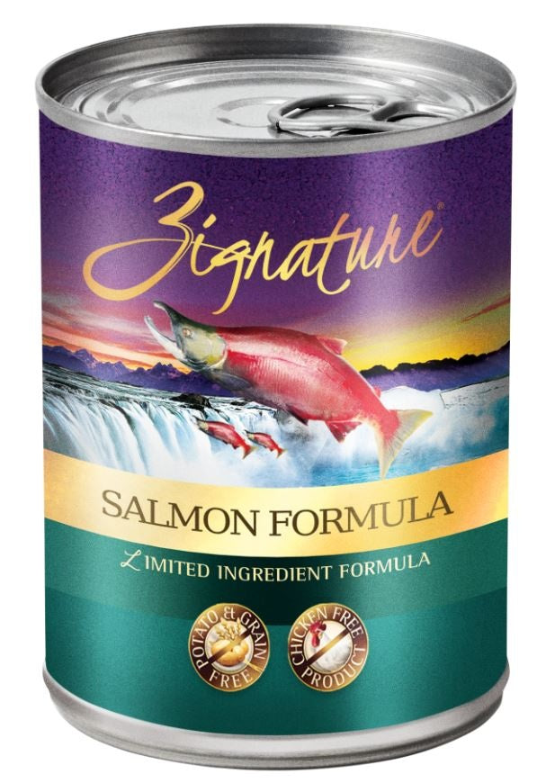 Zignature Grain Free Salmon Limited Ingredient Formula Canned Dog Food