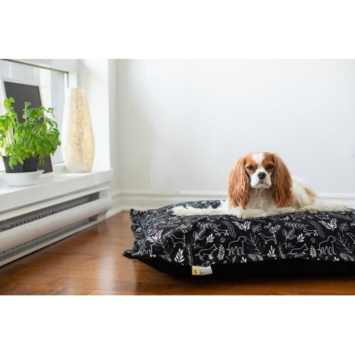BeOneBreed Cloud Pillow Botanical Dog Bed