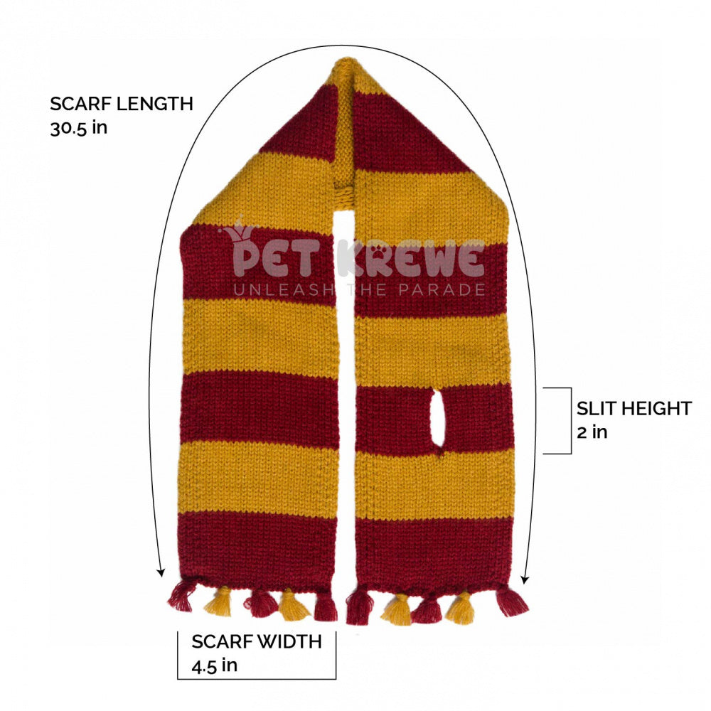 Pet Krewe Hipster Wizard Scarf for Cats & Dogs