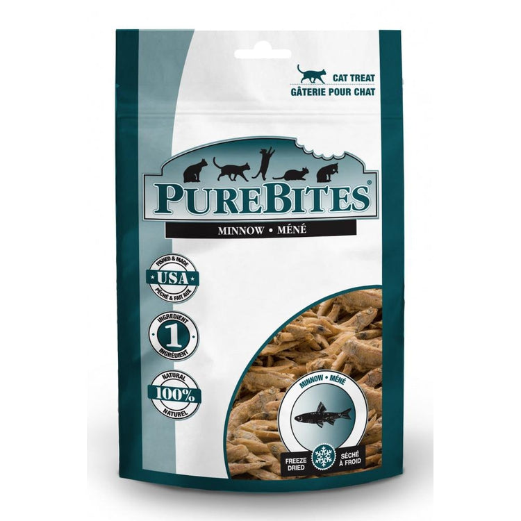 PureBites Minnow Freeze Dried Cat Treats