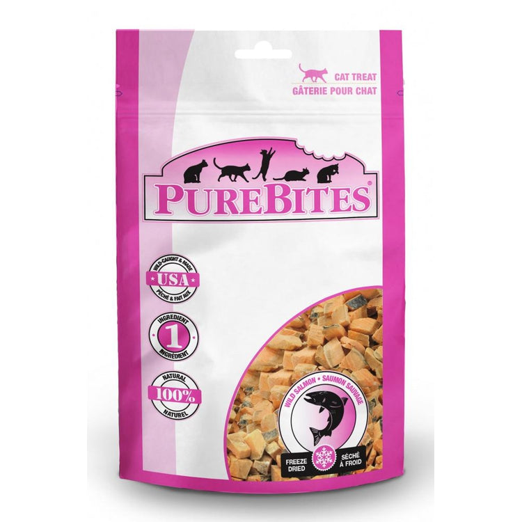 PureBites Salmon Freeze Dried Cat Treats
