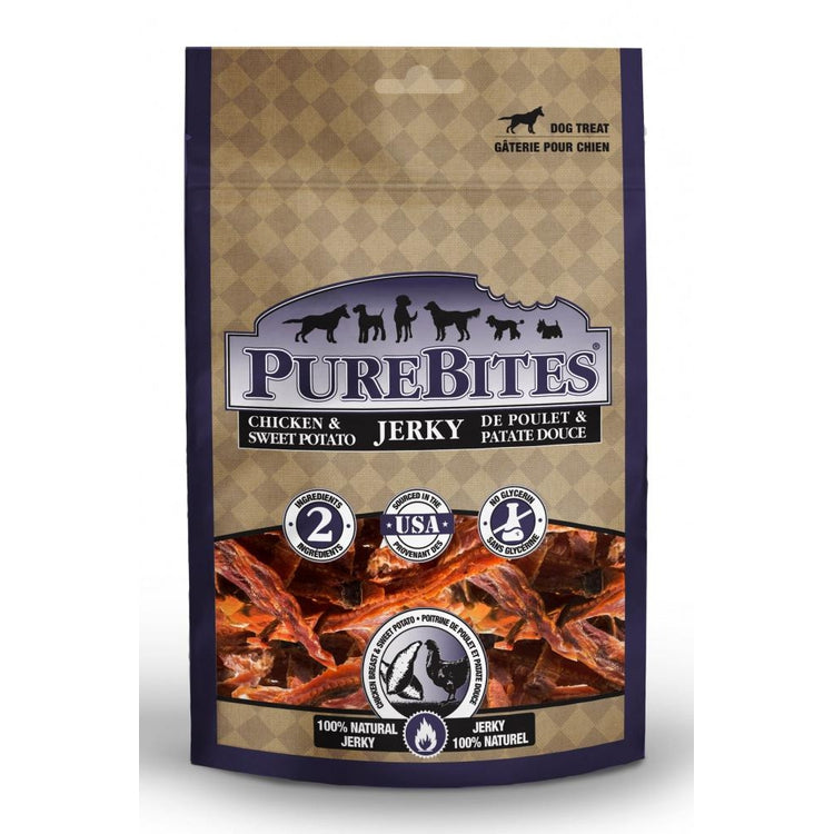 PureBites Chicken & Sweet Potato Jerky Dog Treats