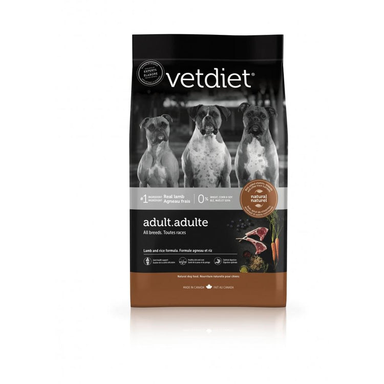 Vetdiet Lamb & Rice Formula Adult All Breeds Dry Dog Food