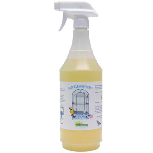 A & E Cage Clean N Fresh Spray Bird Cage Cleaner