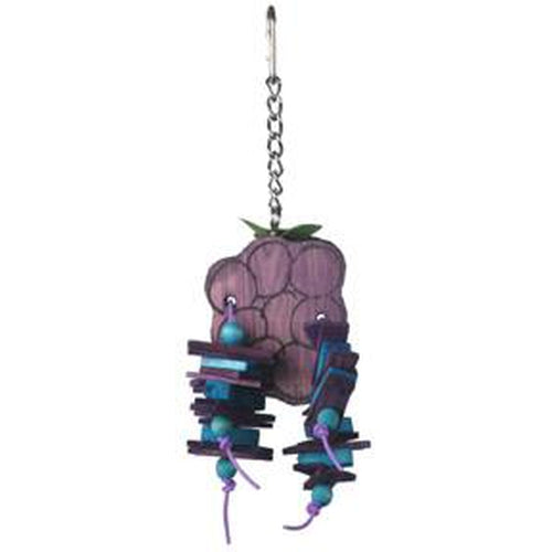 A & E Happy Beaks Small Grapes Bird Toy Bird Cage Accessory