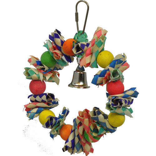 A & E Happy Beaks Fiesta Wreath Small Bird Cage Accessory