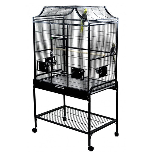 A & E Black Elegant Flight Bird Cage