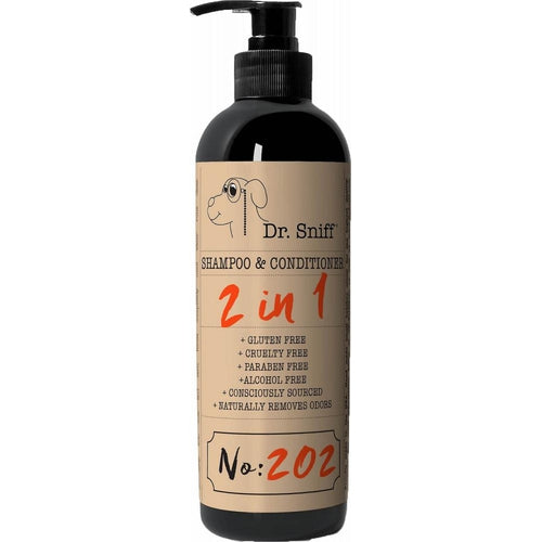 Dr. Sniff 2in1 Shampoo & Conditioner No. 202 Perky Pup