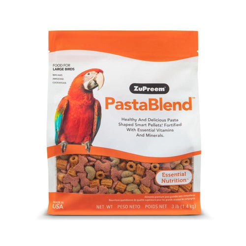 Zupreem PastaBlend Food for Large Birds