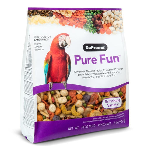 Zupreem Pure Fun Food for Large Birds