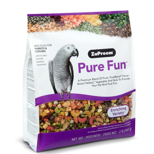 Zupreem Pure Fun Food for Parrots and Conures