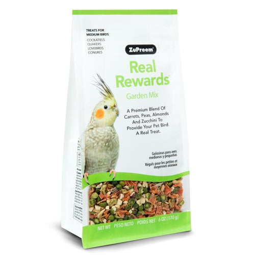 Zupreem Real Rewards Garden Mix Treat for Medium Birds