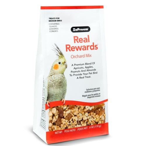 Zupreem Real Rewards Orchard Mix Treat for Medium Birds