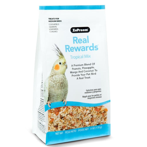 Zupreem Real Rewards Tropical Mix Treat for Medium Birds