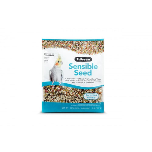 Zupreem Sensible Seed Food for Medium Birds