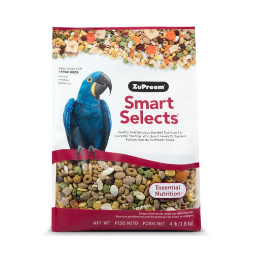 Zupreem Smart Selects Food for Large Birds