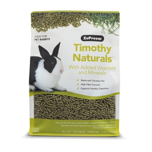 Zupreem Timothy Naturals Rabbit Food