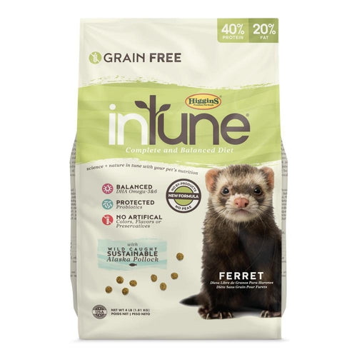Higgins inTune Ferret Food