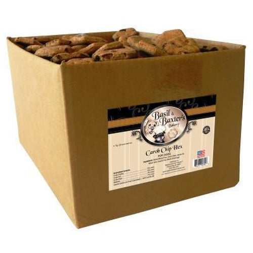 Basil & Baxter's Carob Chip Hex Dog Training Treat 10 lbs