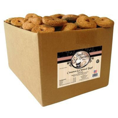 Basil & Baxter's Cinnamon Oatmeal Bagel Dog Biscuits 10 lbs