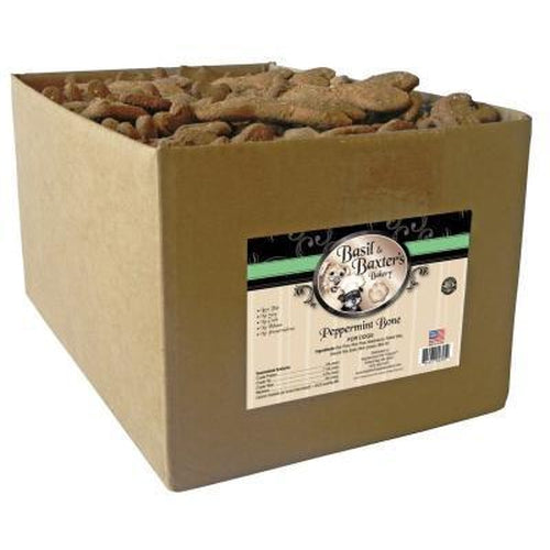 Basil & Baxter's Peppermint Large Bone Dog Treats 10 lbs