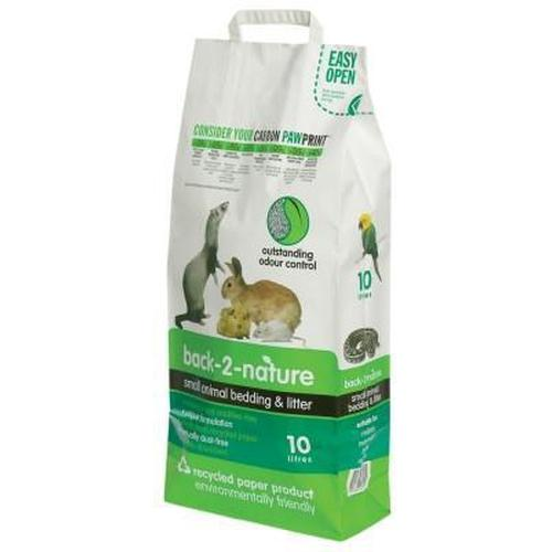 Back 2 Nature Small Animal Litter 10 Liter
