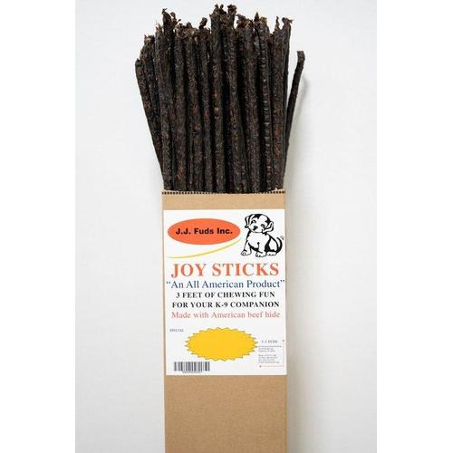 J.J. Fuds All Natural Beef Joysticks Dog Treats 80 ct