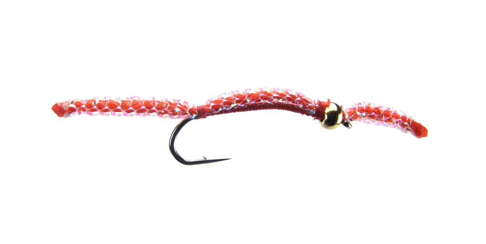 Silverman's Sparkle Worm - Red (12 Pack)