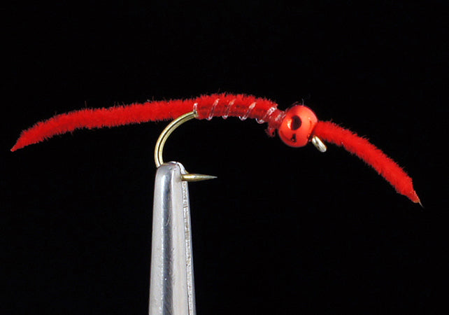 Tung Micro Worm - Red (12 Pack)