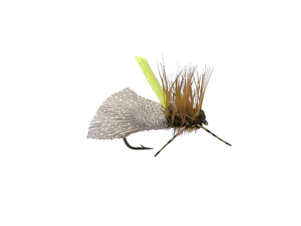 Kingfisher Godlike Caddis - Natural (12 Pack)