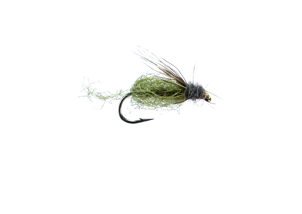 Sparkle Caddis Pupa - Olive (12 Pack)