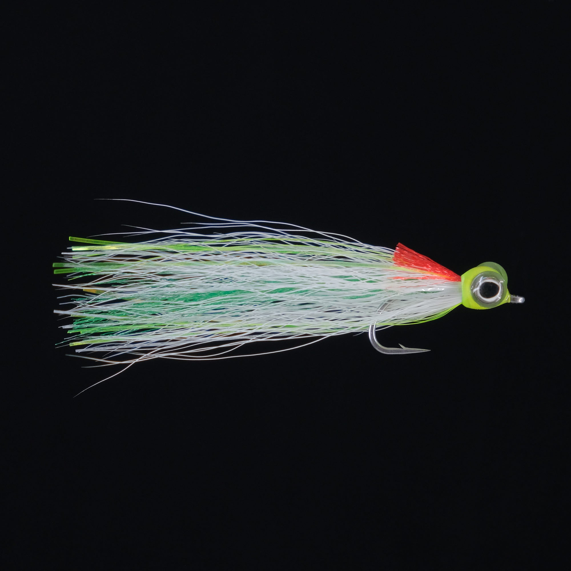 Striper - White/ Green Glow