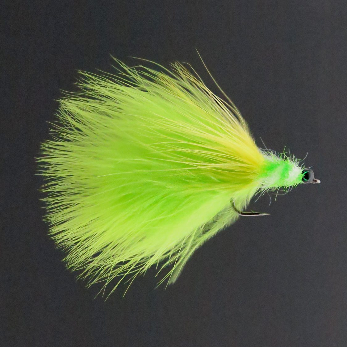 Tarpon Toad Chartreuse & White