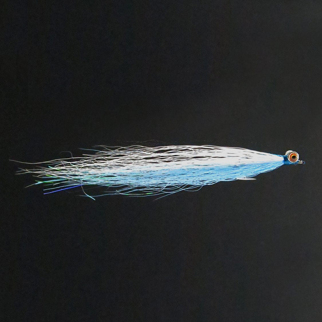 Clouser - Blue & White