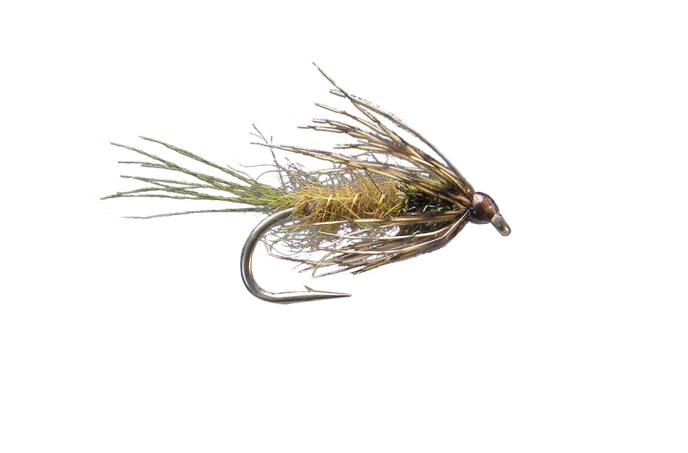 Rickards' A.P. Emerger 2 - Olive (12 Pack)
