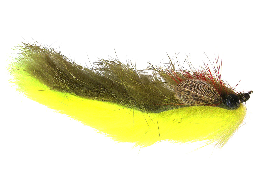 Double Bunny Yellow/Olive  (12 Pack)