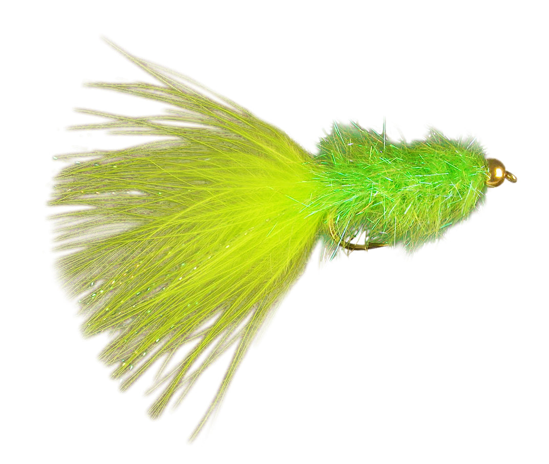 Coffey's Sparkle Minnow - Chartreuse (12 Pack)