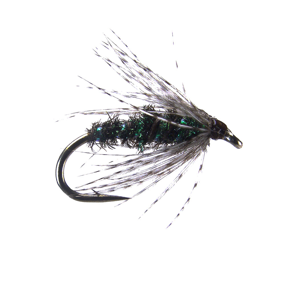 Soft Hackle - Peacock (12 Pack)